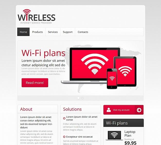 Plantilla Moto CMS HTML #47806 para Sitio de Internet New Screenshots BIG