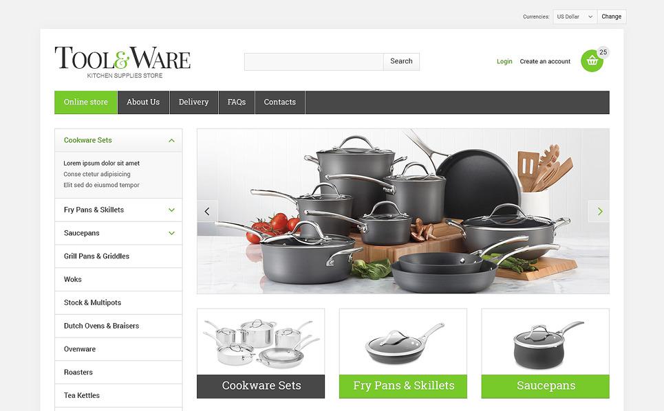 Szablon VirtueMart #47899 na temat: sprzęt gospodarstwa domowego New Screenshots BIG