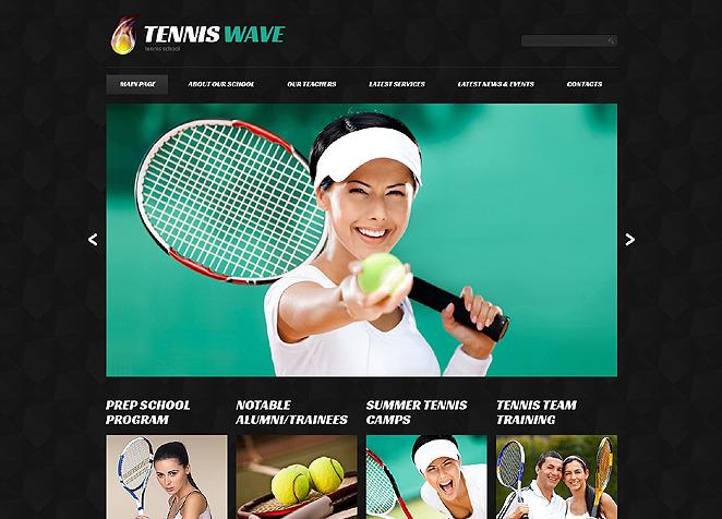 Tennis Club Joomla Template