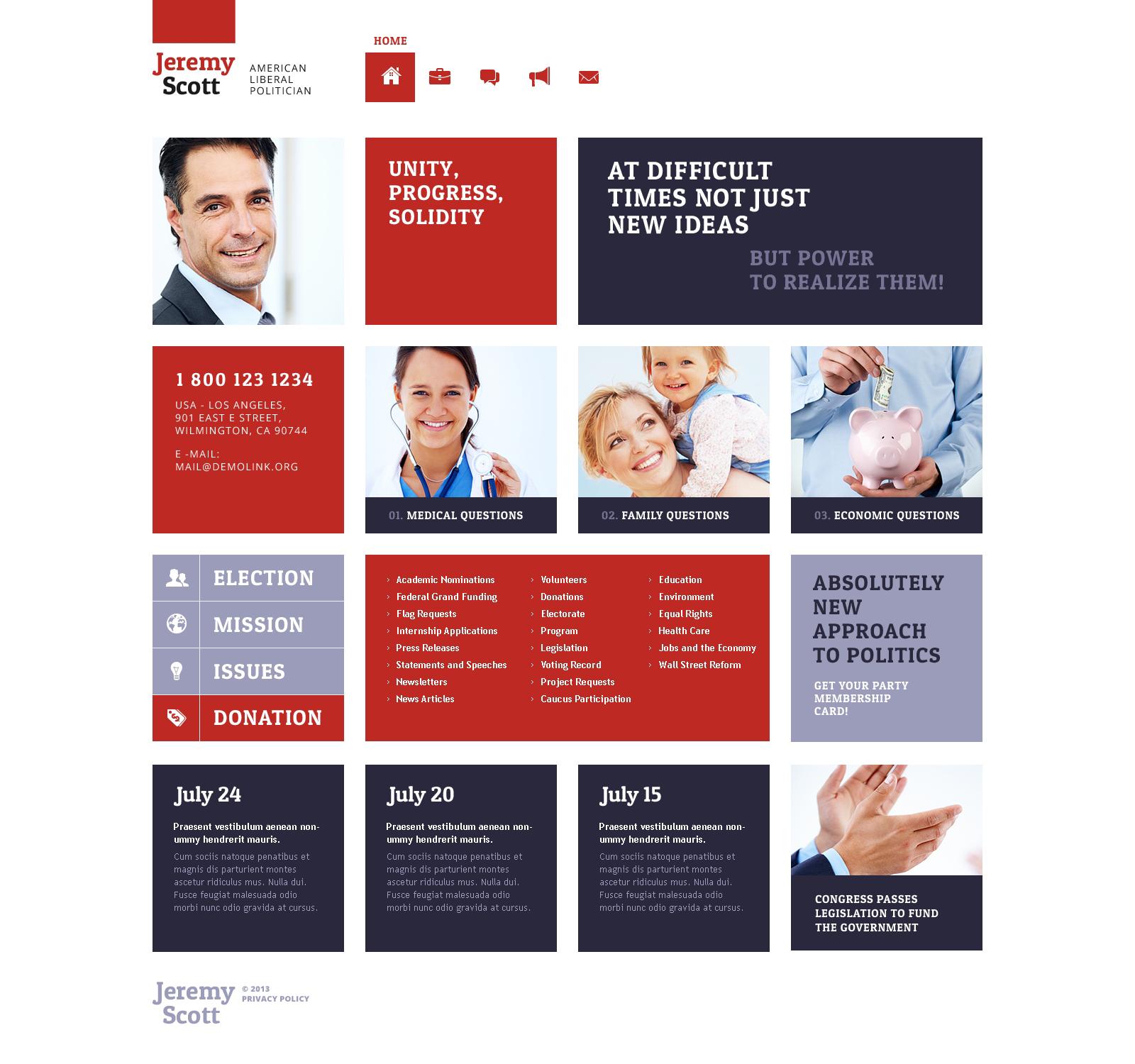 """""""Updating Business Website"""" Responsive WordPress thema №47829"""