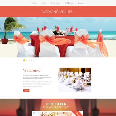 Wedding website templates junglespirit