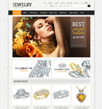 Jewelry osCommerce  Template 47901