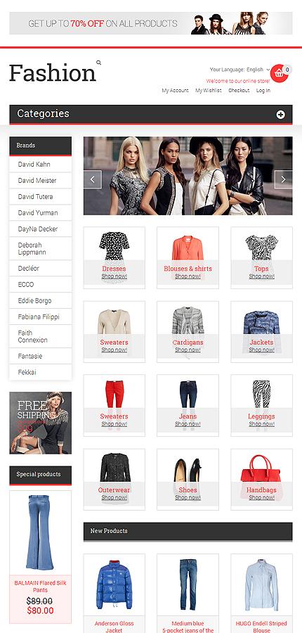 Magento Theme/Template 47903 Main Page Screenshot