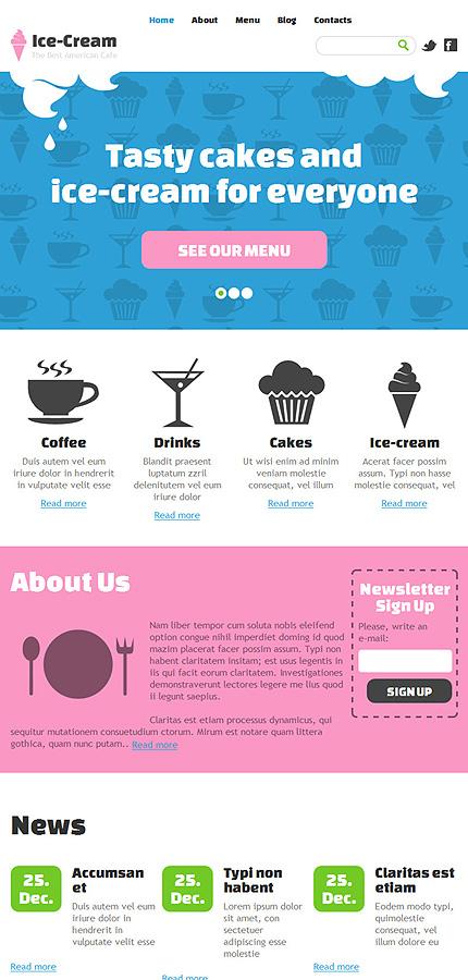 Joomla Theme/Template 47906 Main Page Screenshot