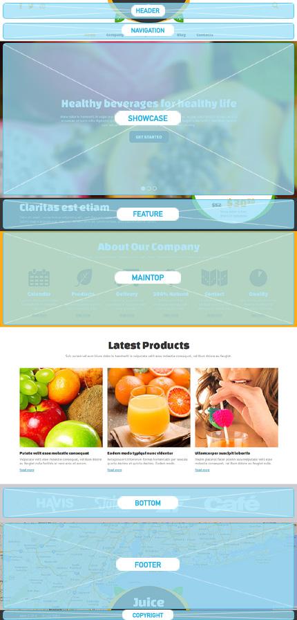 Joomla Theme/Template 47909 Main Page Screenshot