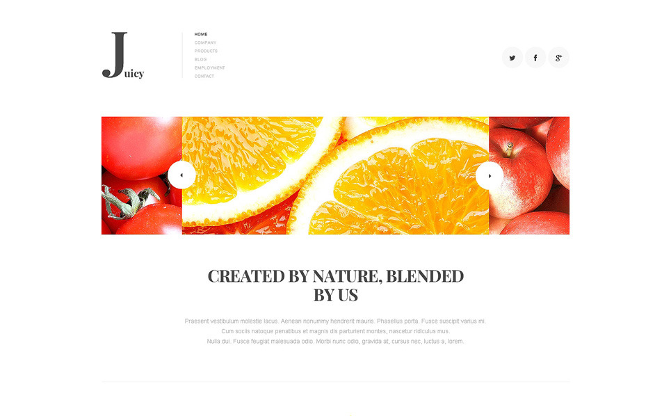 Bootstrap Ételek és italok  Joomla sablon New Screenshots BIG