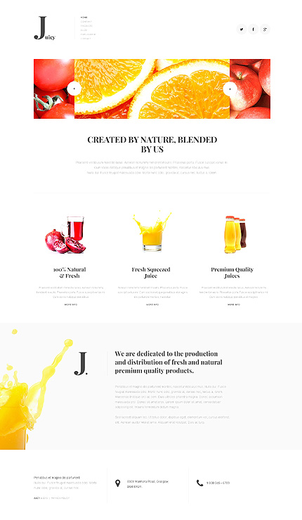 Joomla Theme/Template 47910 Main Page Screenshot