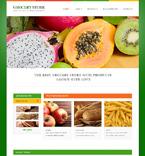 Food & Drink Website  Template 47911