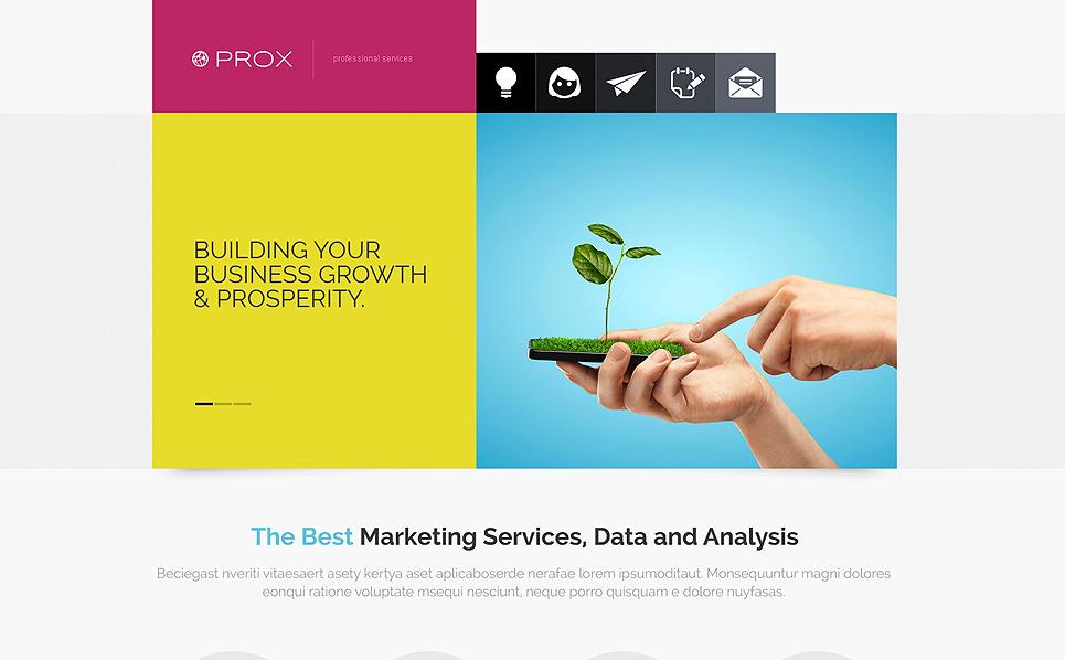 Responzivní Joomla šablona na téma Marketingová agentura New Screenshots BIG