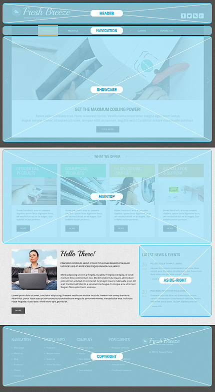 Joomla Theme/Template 47916 Main Page Screenshot