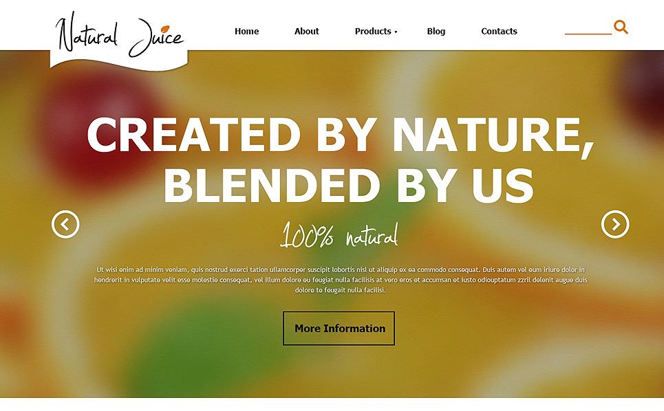 Plantilla Joomla Responsive para Sitio de Comida y bebida New Screenshots BIG