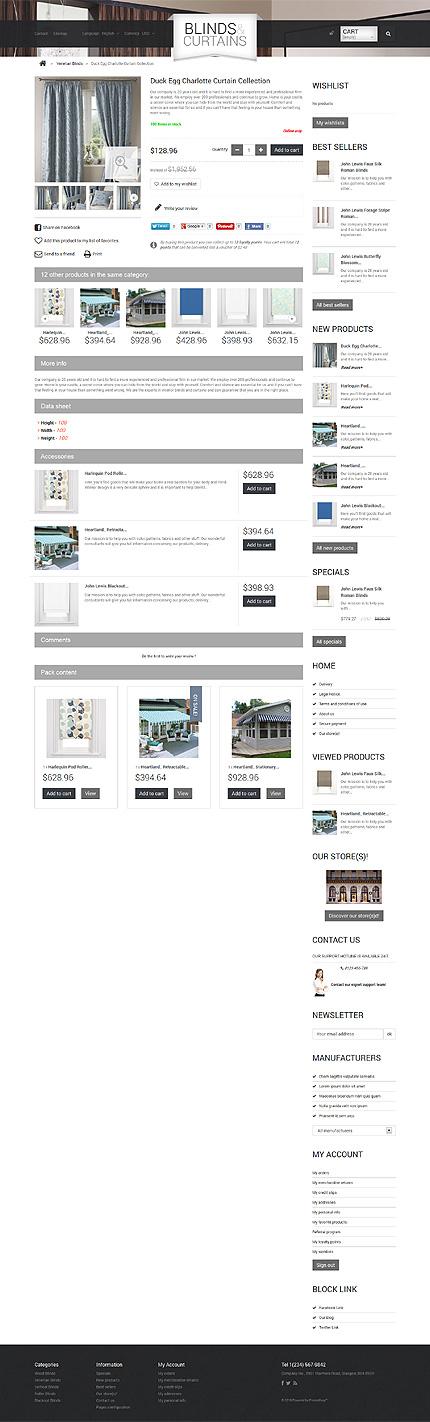 ADOBE Photoshop Template 47919 Home Page Screenshot