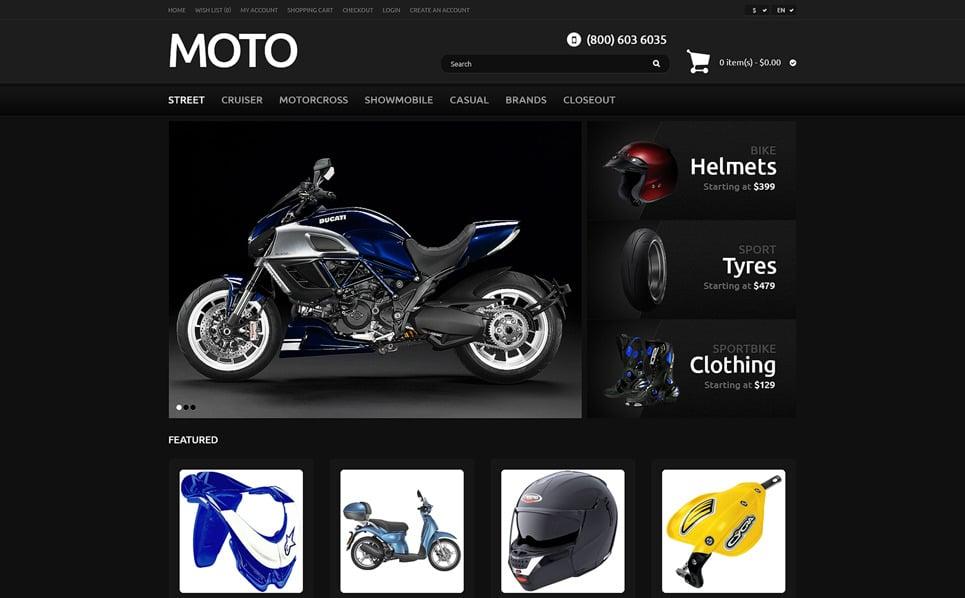 Responsive OpenCart Template over Fietsenwinkel  New Screenshots BIG
