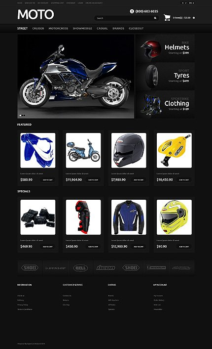 ADOBE Photoshop Template 47922 Home Page Screenshot