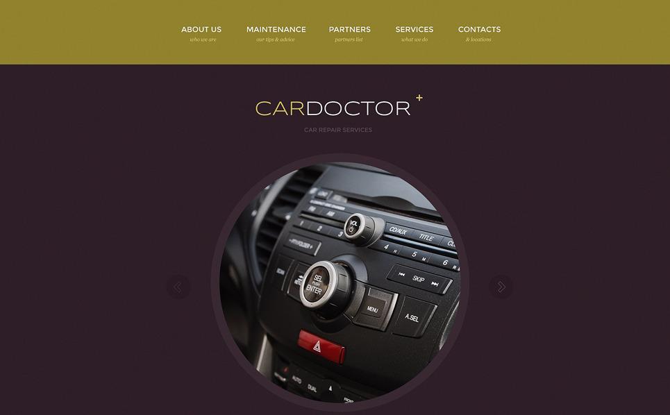 Reszponzív Autószerelők Weboldal sablon New Screenshots BIG