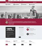 Communications WordPress Template 47924