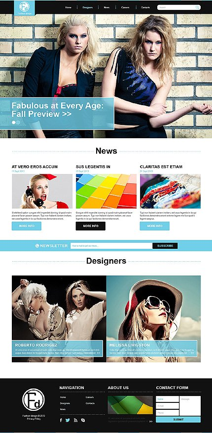 Joomla Theme/Template 47945 Main Page Screenshot