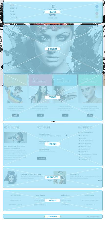 Joomla Theme/Template 47948 Main Page Screenshot