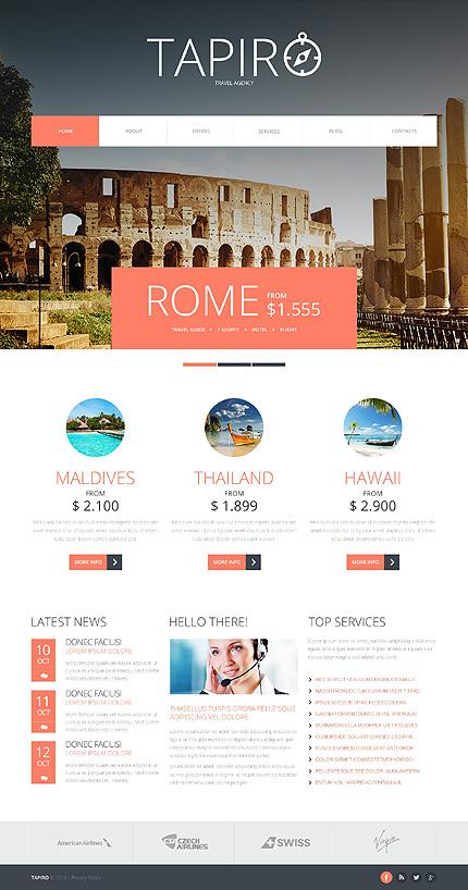 Joomla Theme/Template 47949 Main Page Screenshot