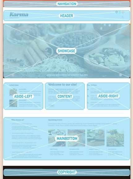 Joomla Theme/Template 47954 Main Page Screenshot