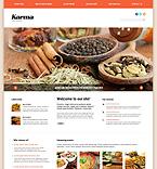 Cafe & Restaurant Joomla  Template 47954