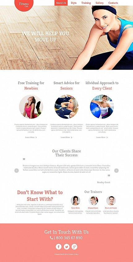 ADOBE Photoshop Template 47958 Home Page Screenshot
