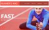 Premium Moto CMS HTML-mall för löpning New Screenshots BIG