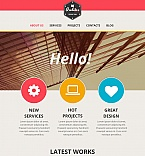 Architecture Moto CMS HTML  Template 47971