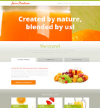 Food & Drink WordPress Template 47992