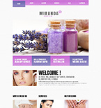 Beauty WordPress Template 47993