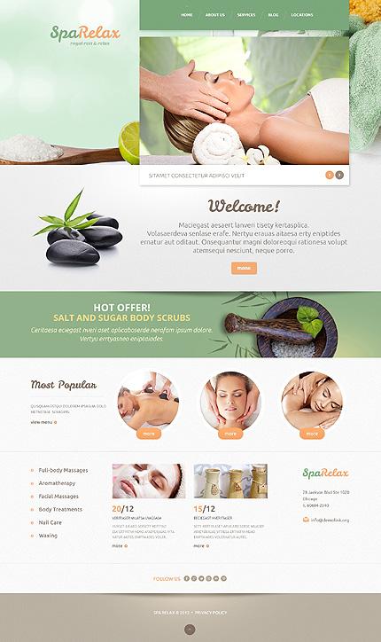 WordPress Theme/Template 47994 Main Page Screenshot