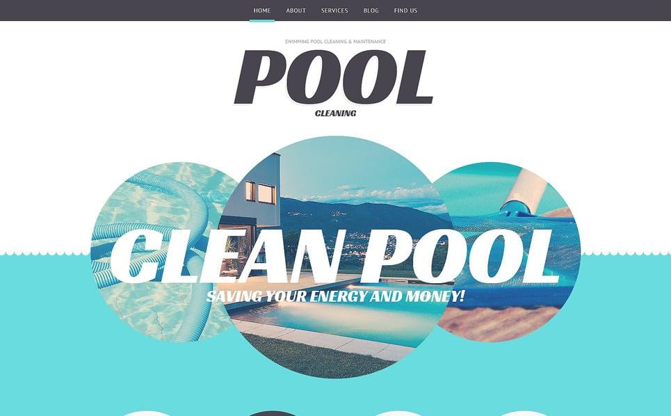 Responsive WordPress thema over Zwembad  New Screenshots BIG