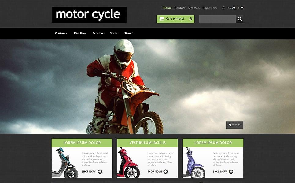 Kerékpárboltok PrestaShop sablon New Screenshots BIG