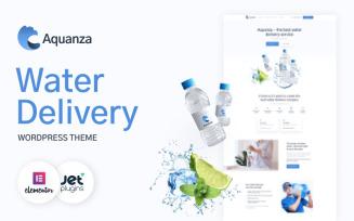 Aquanza - Water Delivery WordPress Theme