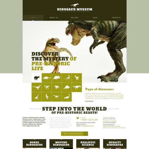 Dinosaur Museum - Joomla! Template based on Bootstrap