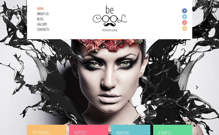 Fashion Guide Joomla Template