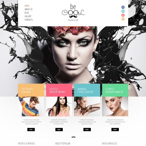 Be cool - Joomla! Template based on Bootstrap