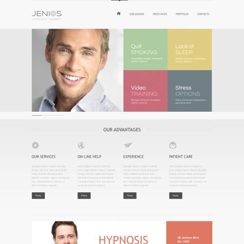 Jenios - HTML5 Drupal Template
