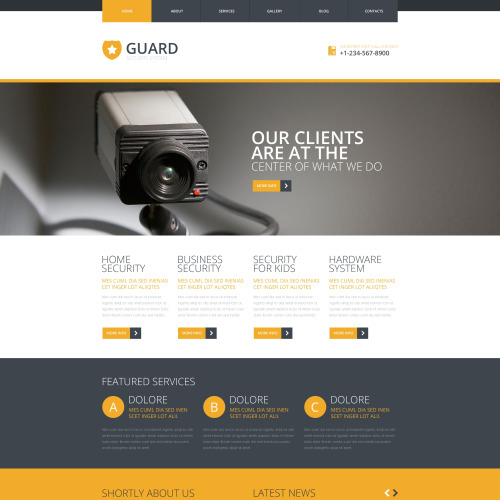 Guard - Joomla! Template based on Bootstrap