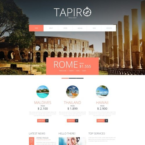 Tapiro - Joomla! Template based on Bootstrap