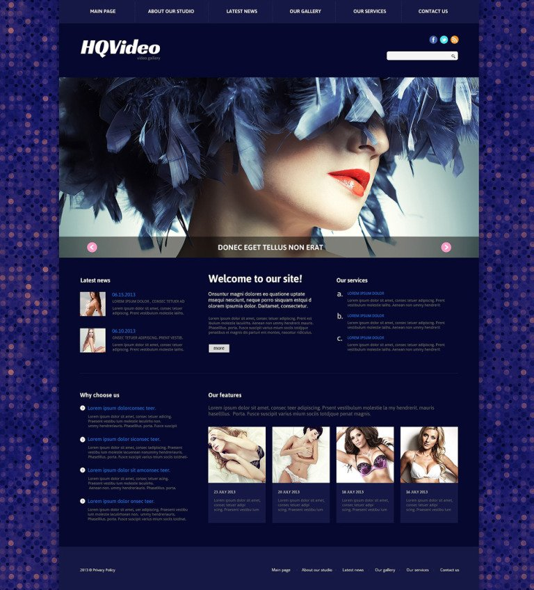 Video Lab Responsive Joomla Template New Screenshots BIG