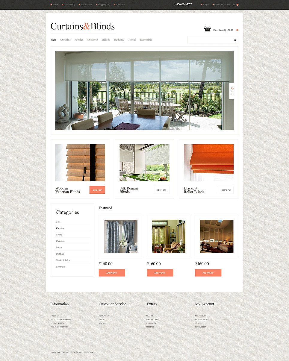 Window Decor Responsive OpenCart Template New Screenshots BIG