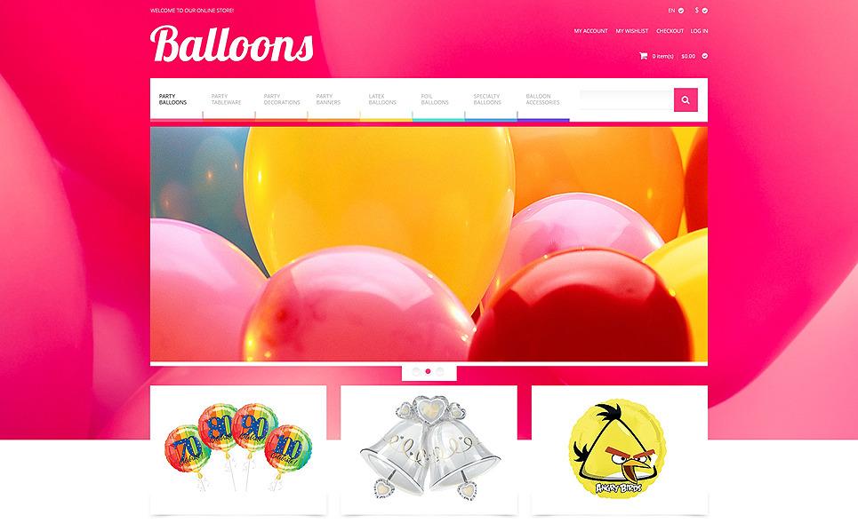 Reszponzív Eseménytervezők Magento sablon New Screenshots BIG