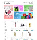 Beauty VirtueMart  Template 48011