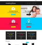 Web Hosting WooCommerce Template 48019