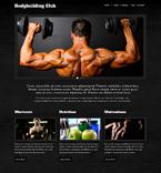 Sport Website  Template 48024