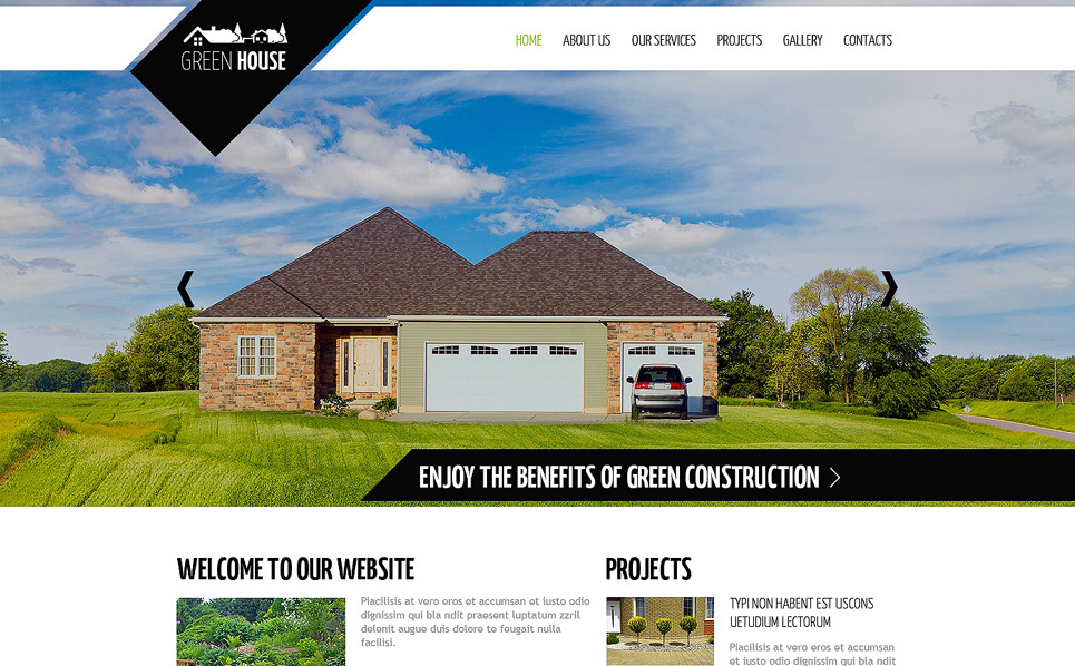 Reszponzív Tájtervezés   Weboldal sablon New Screenshots BIG