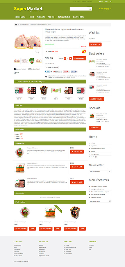 ADOBE Photoshop Template 48039 Home Page Screenshot