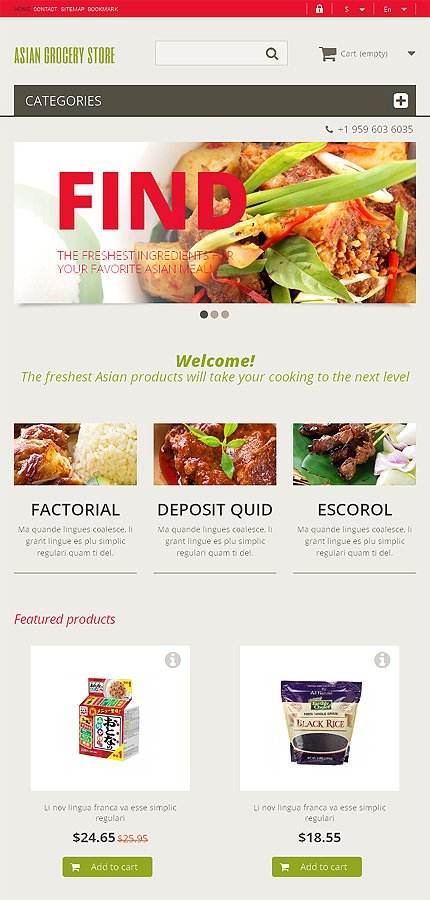 ADOBE Photoshop Template 48040 Home Page Screenshot