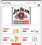 Food & Drink ZenCart  Template 48047